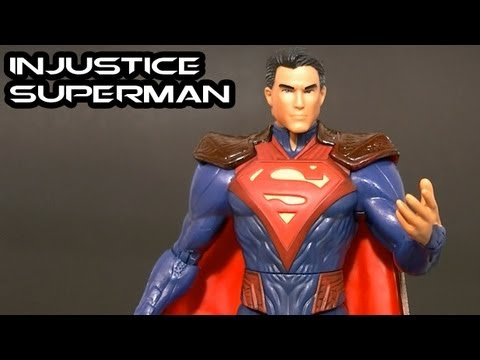 DC Comics Unlimited INJUSTICE SUPERMAN Man of Steel Figure Review