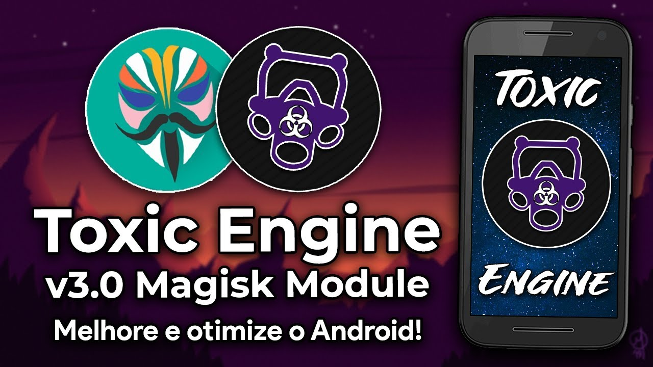 IMPROVE ANDROID IN GAMES AND BATTERY WITH THIS NEW MAGISK MODULE! TOXIC  ENGINE v3 0!