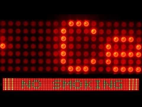 LED-Laufschrift LEDs orange