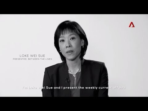 Loke Wei Sue, Presenter, Between The Lines on Channel NewsAsia