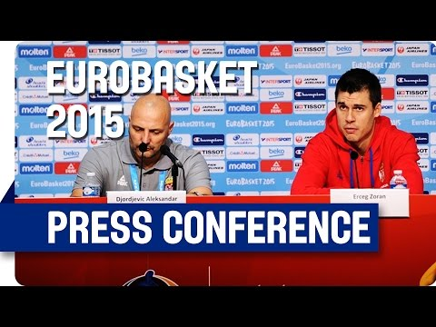 Serbia v Finland - Post Game Press Conference - Live Stream - Eurobasket 2015