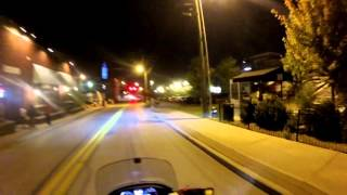 Bikes Blues and BBQ 9 25 2015 Nighttime
