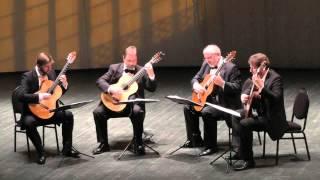 Ivannikov guitar quartet- Sting- Shape of my heart