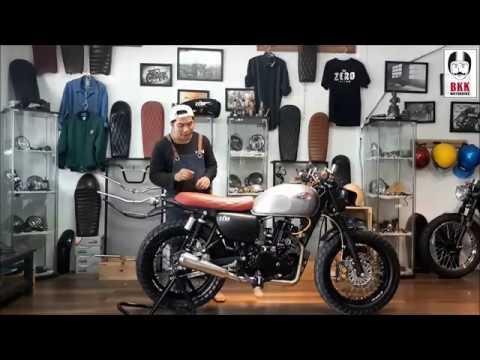 Review Kawasaki W175 Se Custom By Zero Custom Youtube