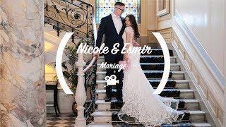 FILM DE MARIAGE // SUISSE // HOTEL TROIS COURONNES VEVEY