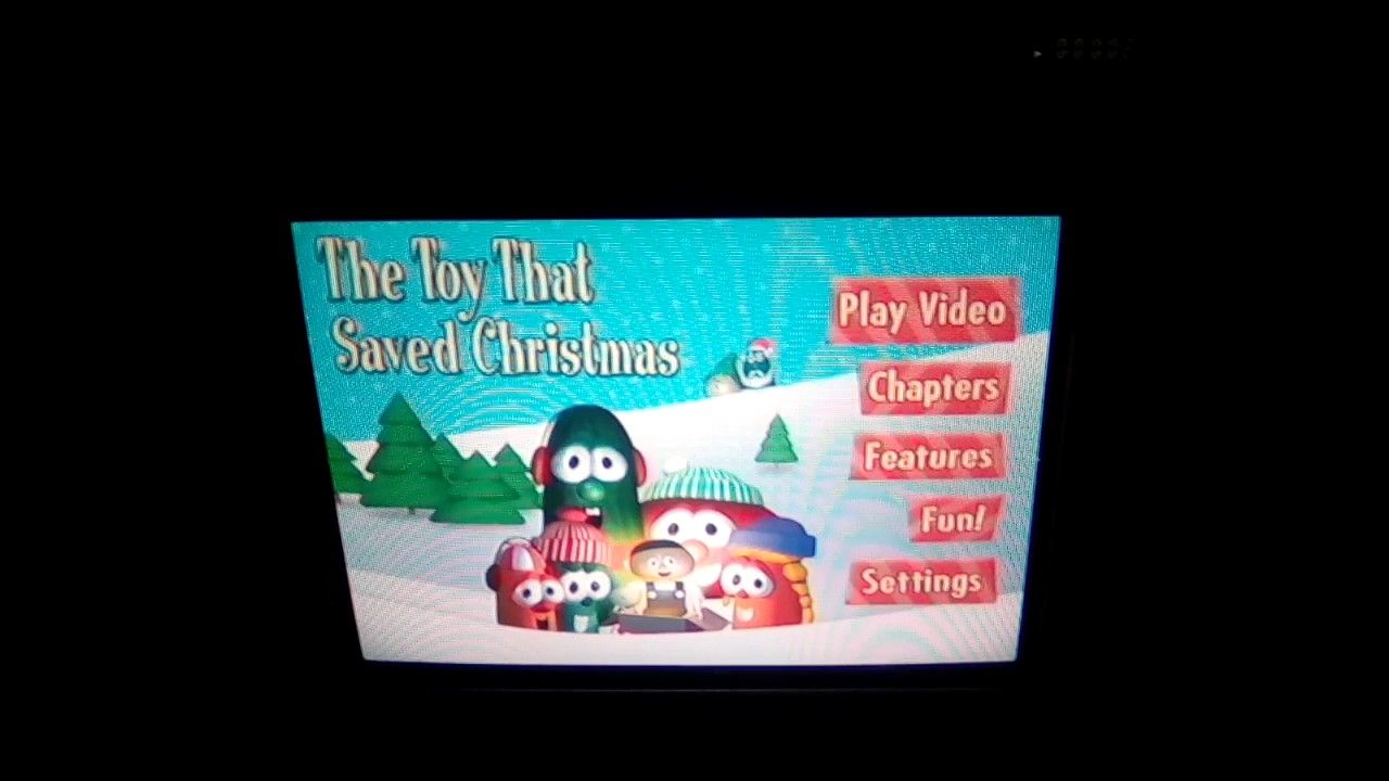 Opening To VeggieTales The Toy That Saved Christmas 2002 DVD - YouTube
