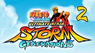 Naruto Shippuden Ultimate Ninja Storm Generations - Walkthrough Part 2 Haku & Zabuza PS3 XBOX 360