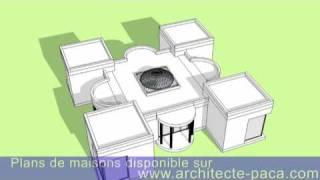 تصاميم ومساقط فيلا مشروع 4