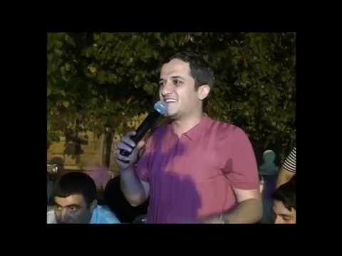 Orxan Lökbatanlı 8-ci sinifdə yazdığı şe'ri deyir / 2017 Salyan