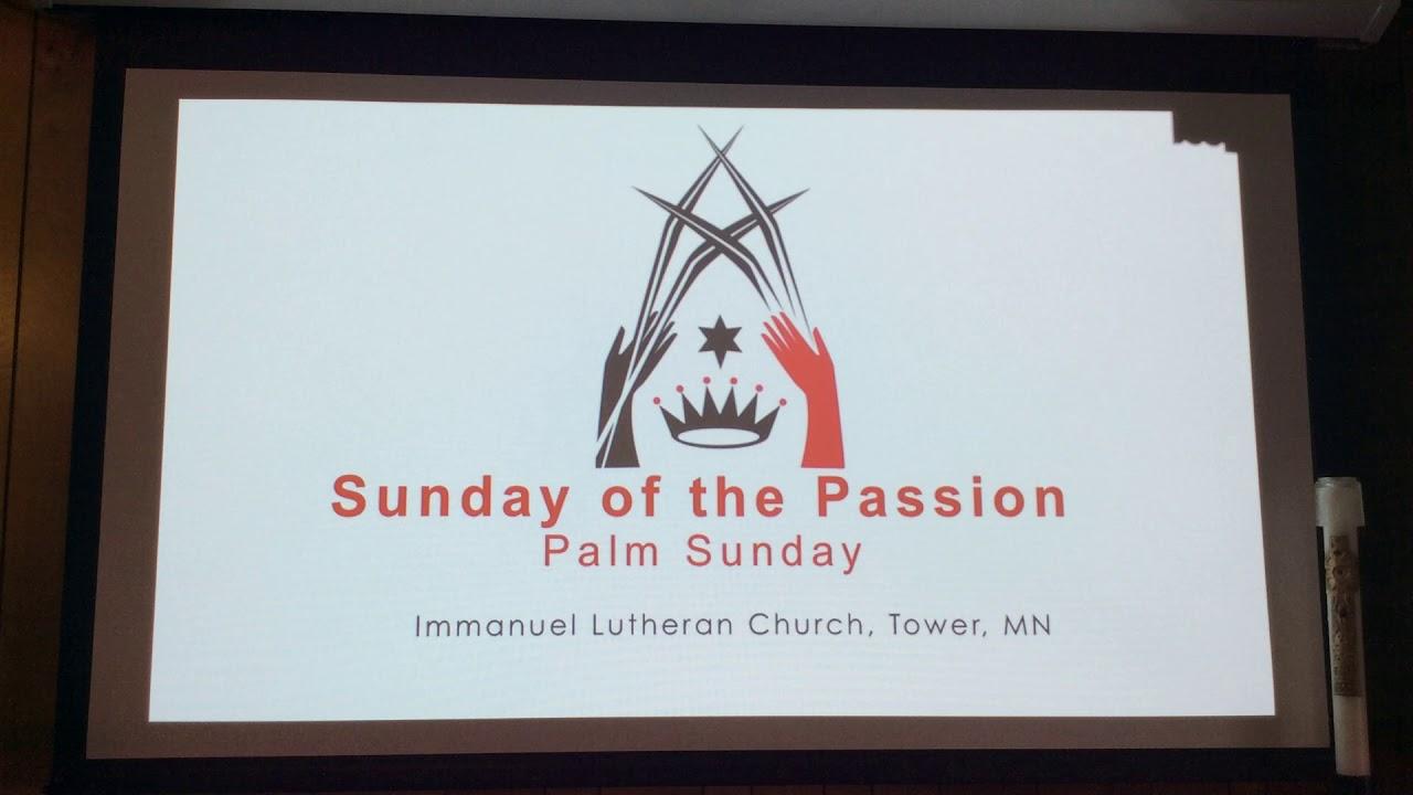 Palm Sunday Worship - April 5, 2020