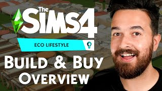 Eco Lifestyle BUILD & BUY Overview (Sims 4)