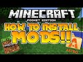 How to install mods in mcpe!! - 3 different tutorials - minecraft pe (pocket edition) android