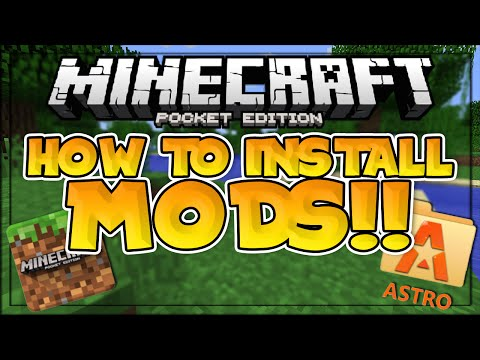 How To Install Mods In Mcpe