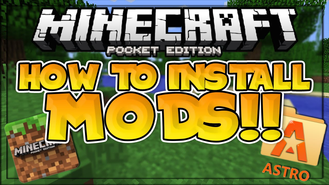 How to Install MODS in MCPE!! – 3 DIFFERENT TUTORIALS – Minecraft PE (Pocket Edition)  #Smartphone #Android