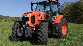 New Kubota M7001 Series Tractors 2| Japan Agricultural Tractors