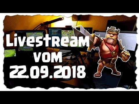 LIVE CLANKRIEG - FARMEN - CLASH   Clash of Clans Deutsch [German]   Let´s Play COC