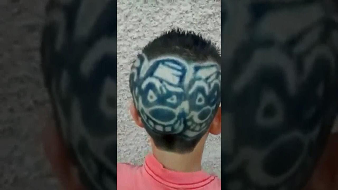 Desenho Palhaço Tatuagem menino de 12 anos 3 passagens tatuagens de palhaços e corte