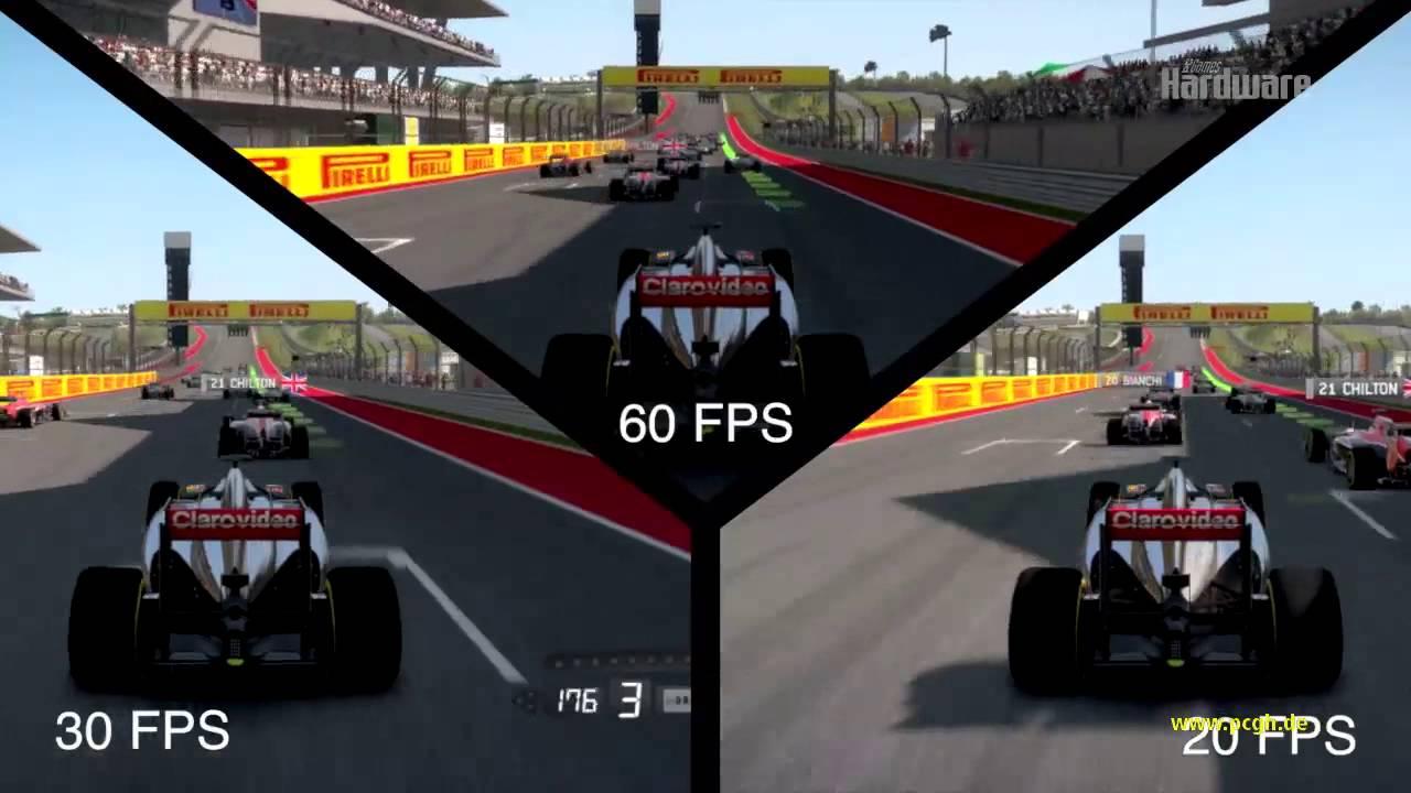 Wieviel Fps braucht der Spieler? Video-Analyse am Beispiel von F1 ...