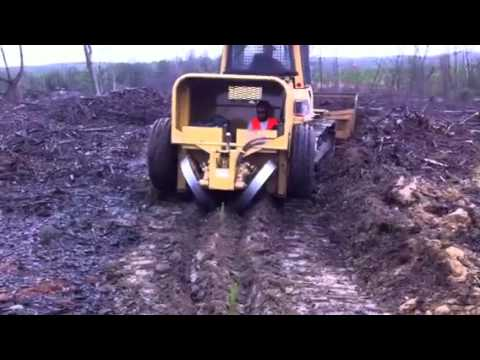 Forestry Solutions C G Tree Planter Rear View Youtube