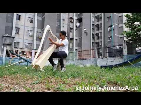 Bailame de Nacho interprétée avec une harpe prise en main par Johnny Jimenez