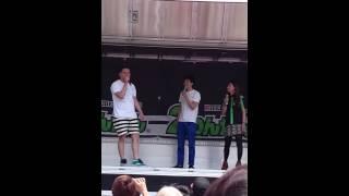 2014年5/24に開催された2りんかん祭WESTでのレイザーラモンRGによるバ...