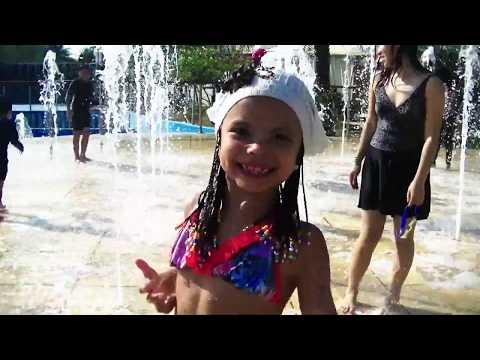 ВЛОГ Диана В Аквапарке CARTOON NETWORK В Паттайе Отдыхаем с подружками Видео для детей