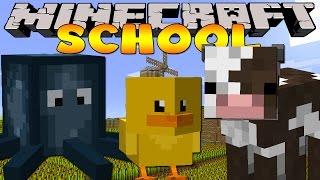 Minecraft School : CUTE BABY ANIMALS!