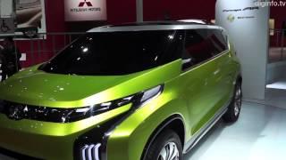 Tokyo Motor Show 2013: Mitsubishi Concept Cars - GC-PHEV, AR, XR-PHEV #DigInfo
