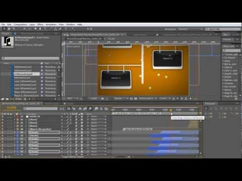 After Effects Tutorial: Create a rocking intro animation with after effects templates