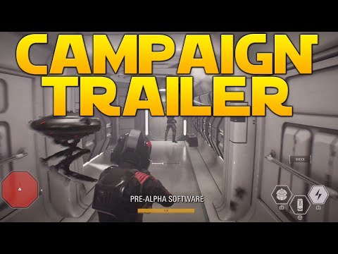 NEW TRAILER + FIRST CAMPAIGN & SPACE GAMEPLAY - Star Wars Battlefront II (Trailer Breakdown)