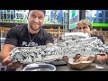 5lb Burrito In Under 2 Minutes CHALLENGE (Matt Stonie Record Attempt)