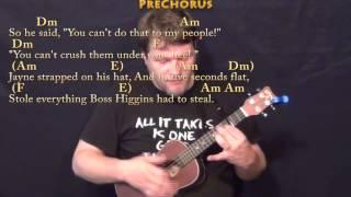 Hero Of Canton (Firefly) Ukulele Cover Lesson with Chords/Lyrics
