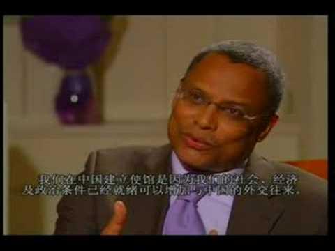 Rita Zhao interviews H.E. Jose Maria P. Neves, Prime Minister of Cape Verde.