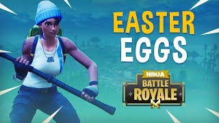 Easter Eggs?! - Fortnite Battle Royale Gameplay - Ninja