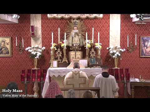 Holy Mass: Infant King Commemoration: 8 PM Eastern Time (E.T)