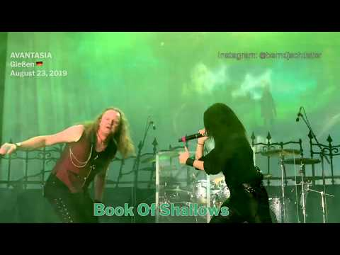 AVANTASIA - Book Of Shallows @Giessen, Germany - August 23, 2019 - 4K LIVE
