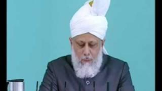 Friday Sermon : 21st May 2010 - Part 4 (Urdu)