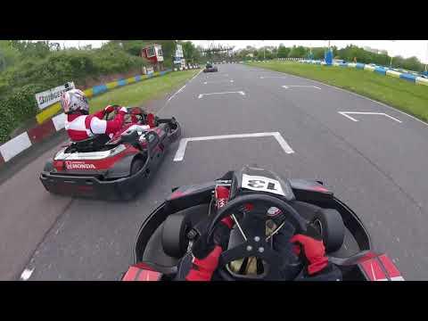 Birmingham Wheels Karting JLP F300 race 2 - 13/05/18