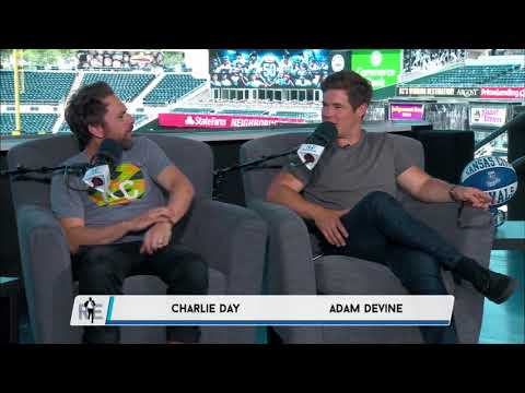 Charlie Day and Adam DeVine Join the Rich Eisen  InStudio in KC  6118