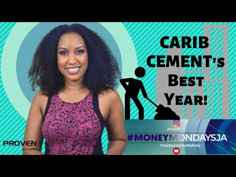 #MoneyMondaysJa - CARIB CEMENT ON TRACK FOR BEST YEAR EVER!