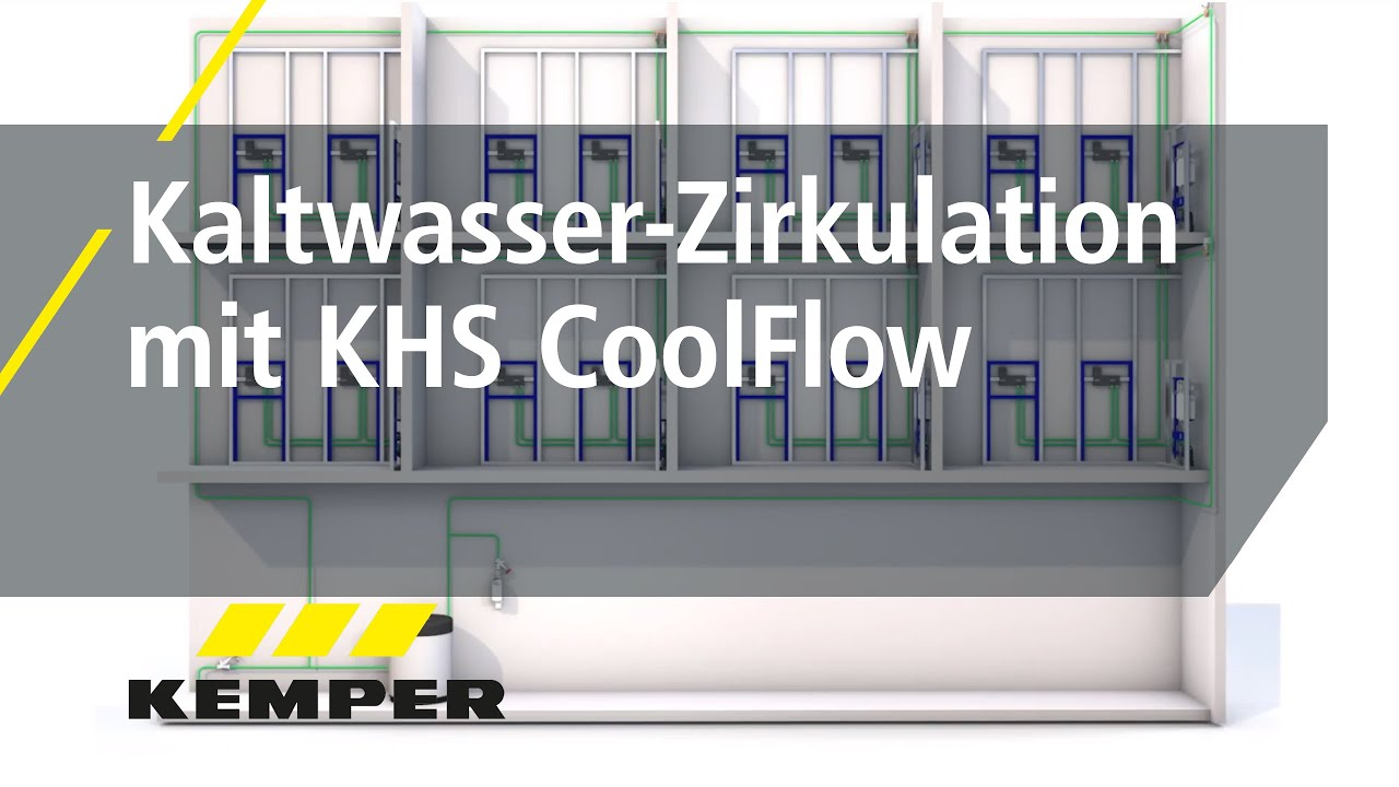 Youtube Video: Kaltwasser-Zirkulation mit KHS CoolFlow