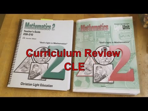 Curriculum Review For CLE - My Thoughts So Far