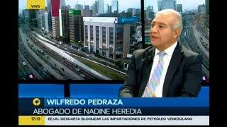 Abogado de Nadine Heredia, Wilfredo Pedraza da cuenta de su defensa