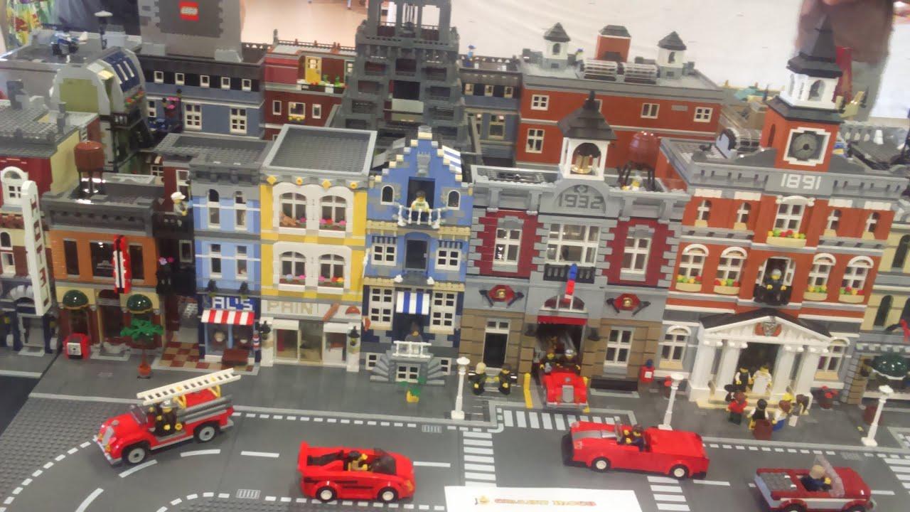 Lego star wars caserne pompiers police paris eiffel youtube - Lego city a colorier ...