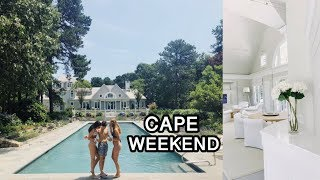 SPENDING THE WEEKEND IN A CAPE COD MANSION
