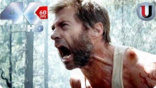 Logan 2017 - Wolverines Berserker Rage - Forest Fight  MOVIE CLIP (4K HD)