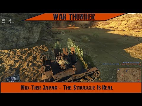 War Thunder - Mid Tier Japan: The Struggle Is Real!