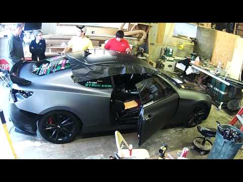 Genesis Coupe Wrap