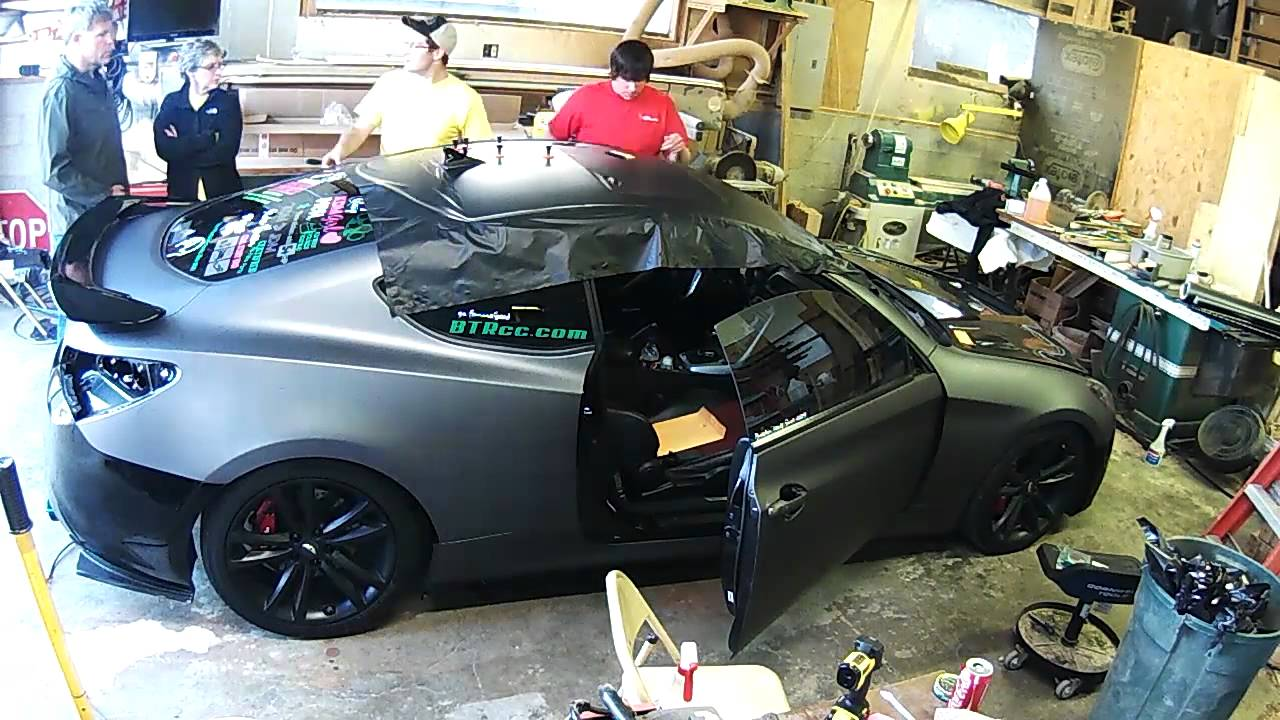 Genesis Coupe Wrap Youtube