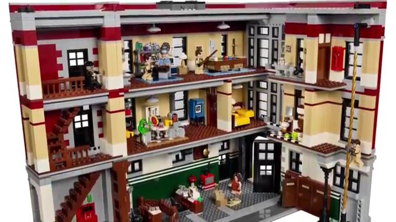 Build A Lego Ghostbusters